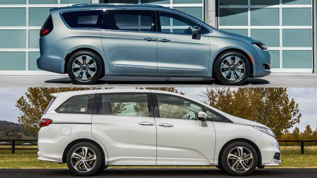 2018 Toyota Sienna vs 2018 Chrysler Pacifica