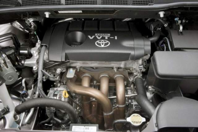 2018 Toyota Sienna Limited Premium AWD engine
